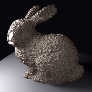 Sculpted Bunny